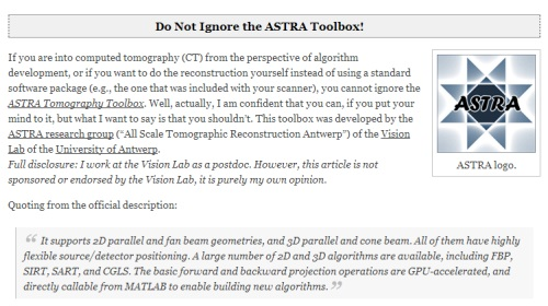 ASTRA-toolbox