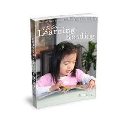 Children Learning Reading book