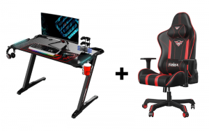 Eureka Gaming Desk and Chair