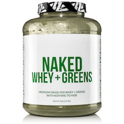 Naked Whey Super Greens