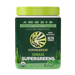 Sunwarrior Ormus Super Greens Powder