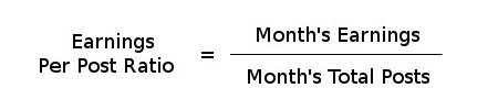 earnings per post