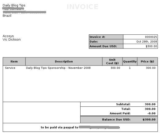 invoice pic