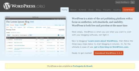 blog on static websites
