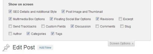 screen-options-post-wordpress