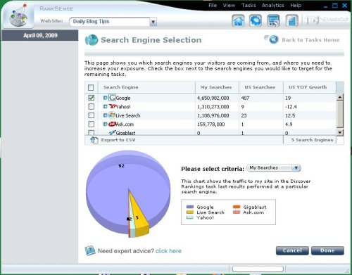 search engine software