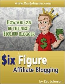 six figure affiliate blogging