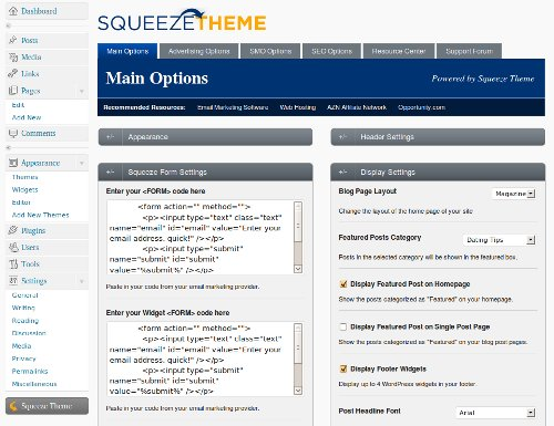squeeze-theme-wordpress