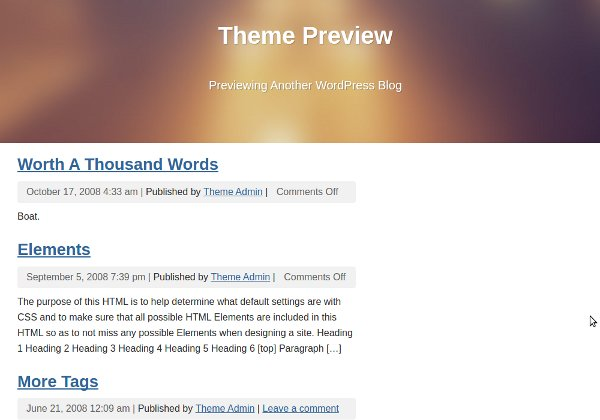 weavr wordpress theme