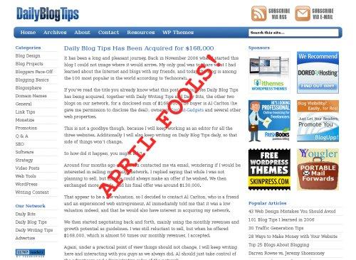website traffic appril fools