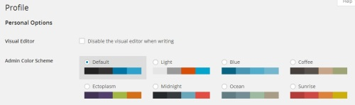 wordpress-change-dashboard-colourscheme
